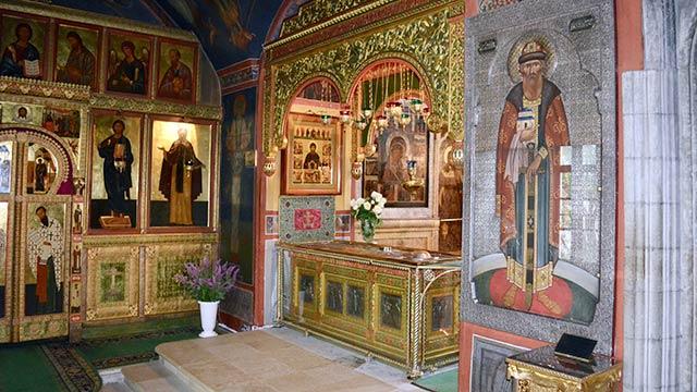 Мощи преподобного и благоверного князя Даниила | Московский Данилов монастырь