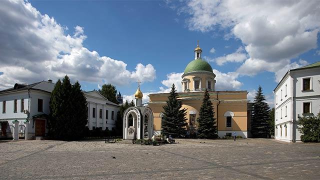 Собор вчесть Троицы Живоначальной (XIXв.) | Московский Данилов монастырь