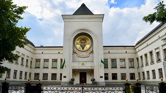 Храм Всех Святых, вЗемле Русской просиявших | Московский Данилов монастырь