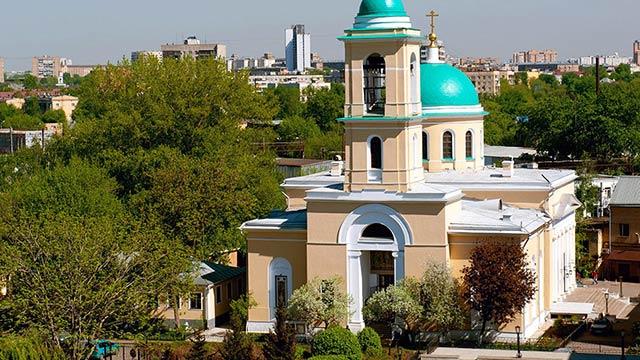 Храм Воскресения Словущего вДаниловской слободе | Московский Данилов монастырь