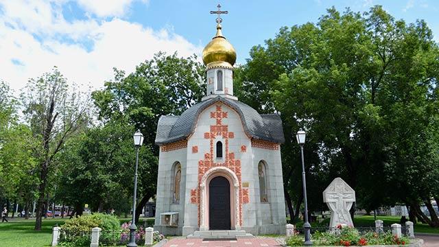 Часовня святого благоверного князя Даниила Московского | Московский Данилов монастырь