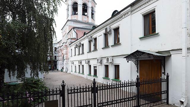 Административный (Старый Братский, Казначейский) корпус | Московский Данилов монастырь
