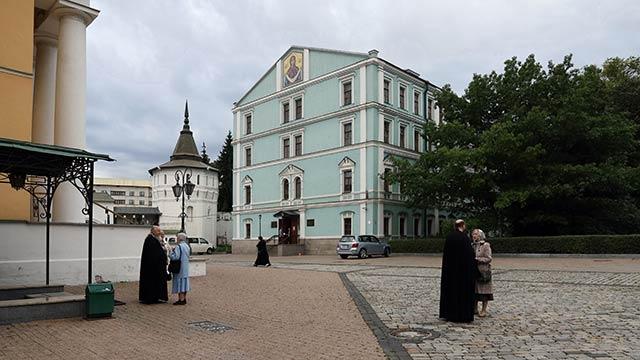 Отдел внешних церковных связей (бывший новый Братский корпус) | Московский Данилов монастырь