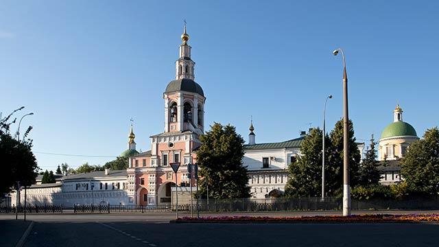 Святые врата иколокольня | Московский Данилов монастырь
