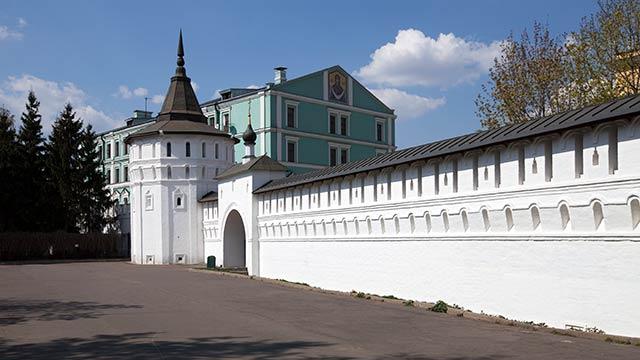 Стены ибашни Данилова монастыря | Московский Данилов монастырь