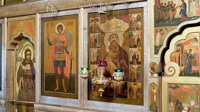 Владимирская икона Божией Матери сАкафистом (XVIв.) | Московский Данилов монастырь
