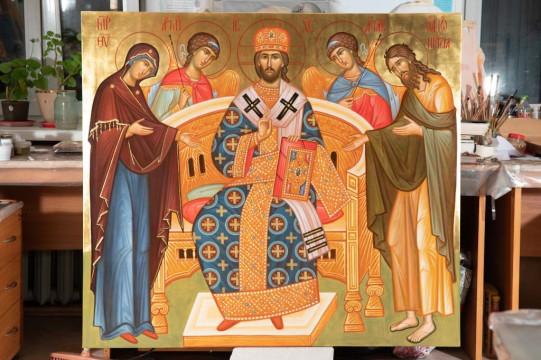 Иконописная мастерская | Московский Данилов монастырь