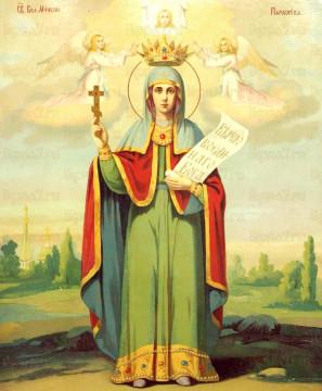Частица мощей великомучечницы Параскевы, нареченной Пятница   Московский Данилов монастырь