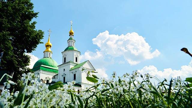 Едем в монастырь | Московский Данилов монастырь