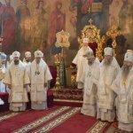 Епископ Алексий принял участие в заупокойной литургии в Успенском соборе города Владимира | Московский Данилов монастырь
