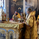В Даниловом монастыре совершили богослужения 8-й Недели по Пятидесятнице | Московский Данилов монастырь