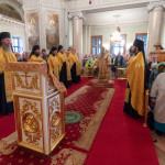 В Даниловом монастыре совершили богослужения 10-й Недели по Пятидесятнице | Московский Данилов монастырь