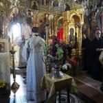 На Свято-Преображенском подворье Данилова монастыря прошло торжественное богослужение престольного праздника | Московский Данилов монастырь