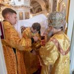 В Даниловом монастыре совершили богослужения 13-й Недели по Пятидесятнице | Московский Данилов монастырь
