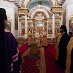 В Даниловом монастыре совершили богослужения 15-й Недели по Пятидесятнице | Московский Данилов монастырь
