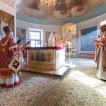 В Даниловом монастыре совершили богослужения 17-й Недели по Пятидесятнице | Московский Данилов монастырь