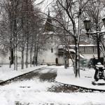Первый снег в обители князя Даниила | Московский Данилов монастырь