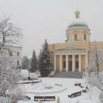 Наснежные равнины пал туман | Московский Данилов монастырь
