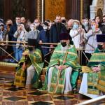 Насельники Данилова монастыря удостоены богослужебно-иерархической награды | Московский Данилов монастырь