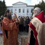 Освящение воды | Московский Данилов монастырь