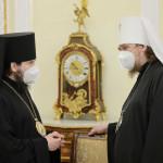 В Даниловом монастыре состоялось заседание Священного Синода Русской Православной Церкви | Московский Данилов монастырь