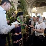 Вручение дипломов | Московский Данилов монастырь