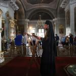 В Даниловом монастыре совершили погребение плащаницы Пресвятой Богородицы | Московский Данилов монастырь