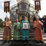 На подворье Данилова монастыря вчесть иконы Божией Матери «Всецарица» прошло торжественное богослужение престольного праздника   Московский Данилов монастырь