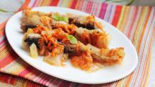 Кухня батюшки Гермогена: рыба, тушенная слуком исладким перцем | Московский Данилов монастырь