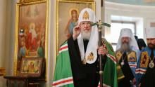 Патриаршая проповедь в Неделю 25-ю по Пятидесятнице   Московский Данилов монастырь
