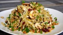 Кухня батюшки Гермогена: салат «Осень»   Московский Данилов монастырь