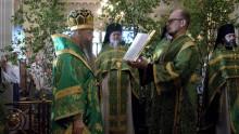 День Святой Троицы в Даниловом монастыре | Московский Данилов монастырь