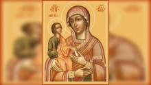 Икона Божией Матери, именуемая «Троеручица» | Московский Данилов монастырь