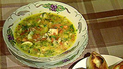 Кухня батюшки Гермогена: похлебка рыбная | Московский Данилов монастырь