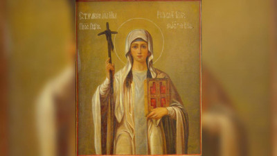 Равноапостольная Нина, просветительница Грузии (335) | Московский Данилов монастырь