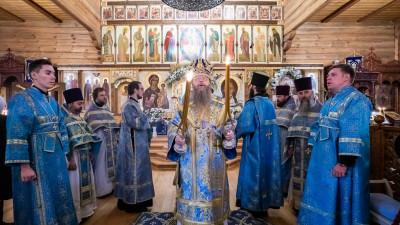 Епископ Солнечногорский Алексий совершил Литургию на подворье Зачатьевского монастыря в Барвихе | Московский Данилов монастырь