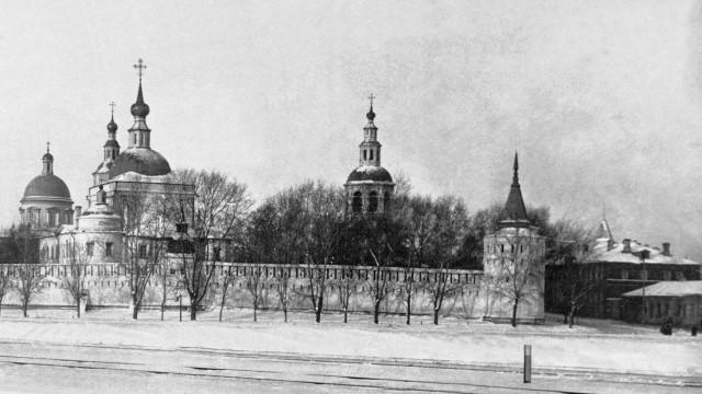 Дело №121. Закрытие московских монастырей | Московский Данилов монастырь