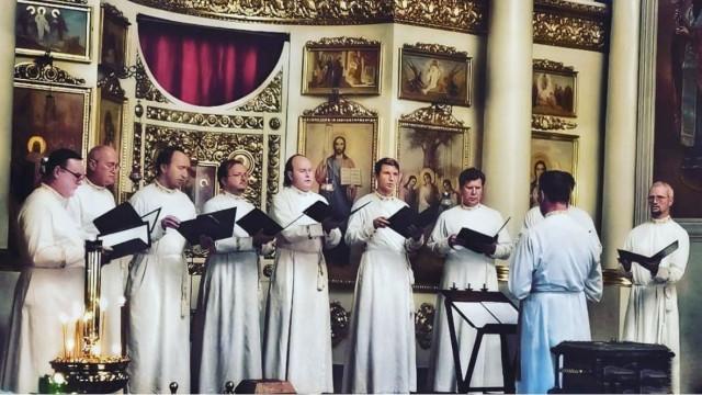 Благотворительный концерт праздничного хора Данилова монастыря | Московский Данилов монастырь