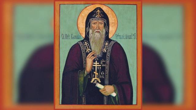 19 ноября память преподобного Варлаама Хутынского | Московский Данилов монастырь