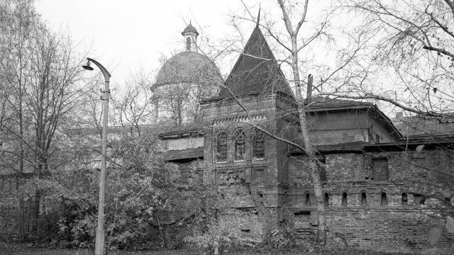 Изъятие церковных ценностей | Московский Данилов монастырь