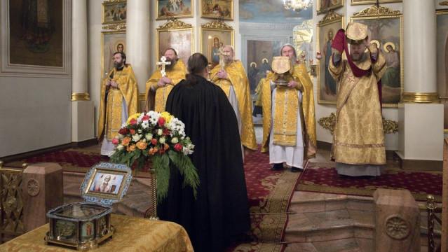 В обители князя Даниила почтили память святителя Николая Чудотворца   Московский Данилов монастырь