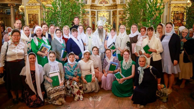 В январе объявляется набор на  вечернее певческое отделение | Московский Данилов монастырь