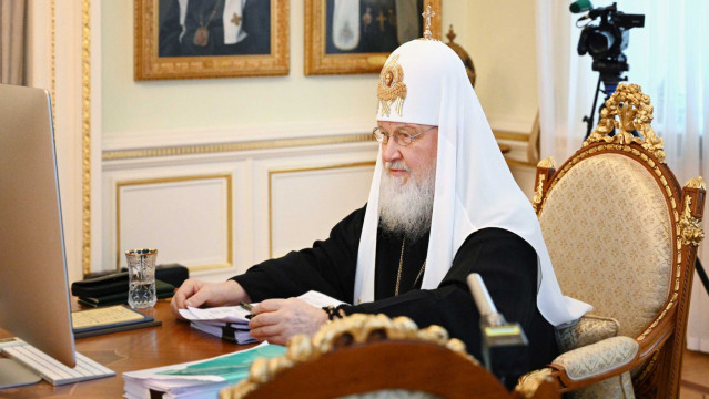 29декабря Святейший Патриарх Кирилл возглавил заседание Священного Синода Русской Православной Церкви | Московский Данилов монастырь