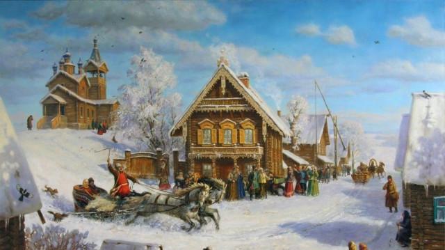 И. С. Шмелев. Рождество (изповести «Лето Господне») | Московский Данилов монастырь