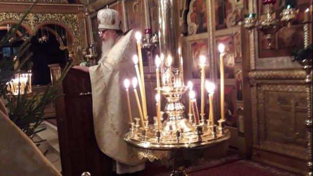 Архимандрит Даниил (Воронин). Собор Пресвятой Богородицы | Московский Данилов монастырь