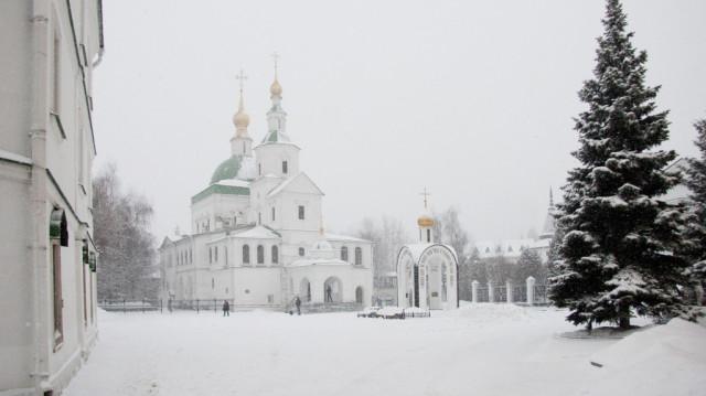 Навечерие Богоявления (Крещенский сочельник)   Московский Данилов монастырь