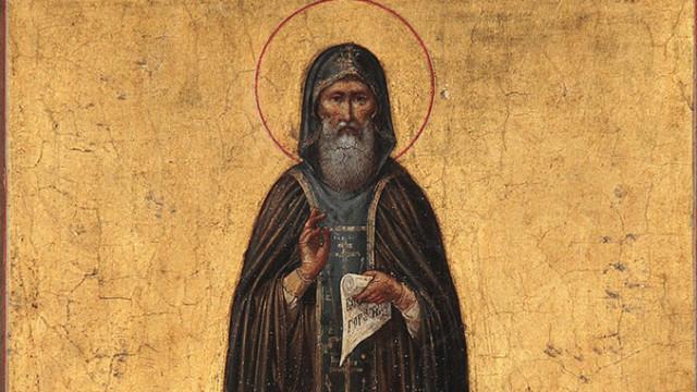 30 января память преподобного Антония Великого (356) | Московский Данилов монастырь