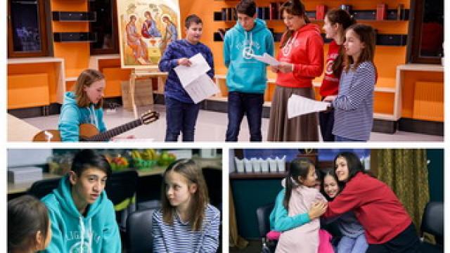 Приглашаем школьников в православный лагерь   Московский Данилов монастырь