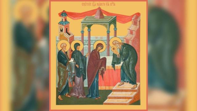 Сретение Господне | Московский Данилов монастырь