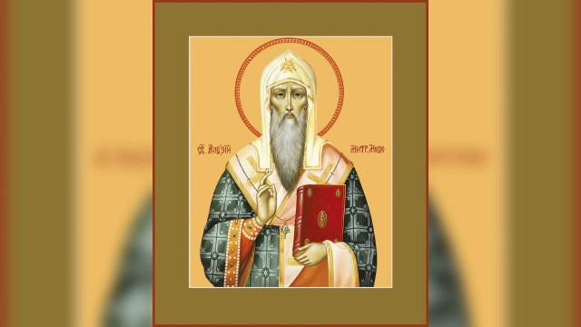Святитель Алексий, митрополит Киевский, Московский ивсея Руси, чудотворец (1378)   Московский Данилов монастырь